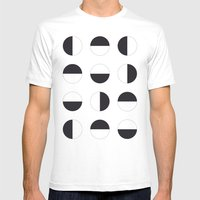 Modular Mens Fitted Tee White SMALL