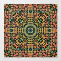 Festive Mandala Canvas Print