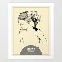 KISHI Art Print