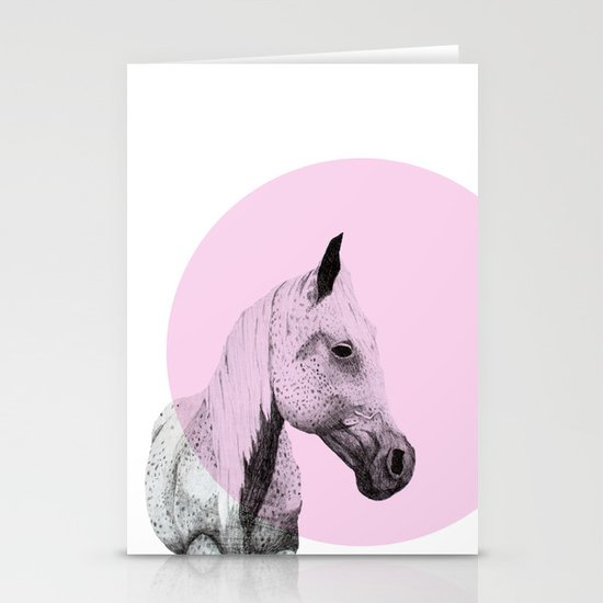 speckled horse Stationery Card
