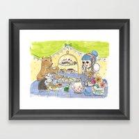 High Tea Party Framed Art Print