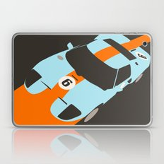 Orange Notch - Ford GT40 Race Car Laptop & iPad Skin