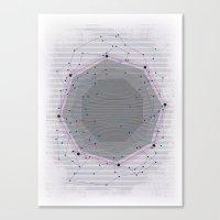 CYBERDOT Canvas Print