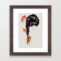 Hair Sequel III Framed Art Print