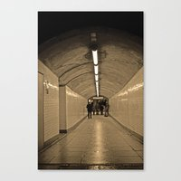 Westminster Subway Canvas Print