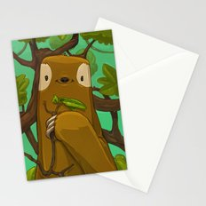 Sally the Sloth Stationery Cards