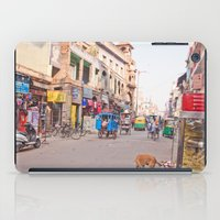 India New Delhi Paharganj 5489 iPad Case