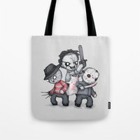 Horror Trifecta Plushie  Tote Bag