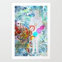 Calling Cards Art Print