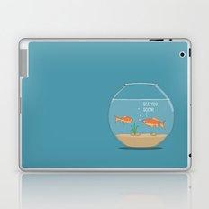 It's a small small world Laptop & iPad Skin