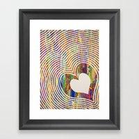 We All Love The Beat Framed Art Print