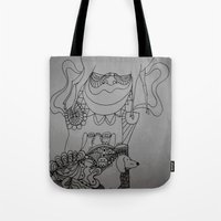 Dackel & Deer Tote Bag