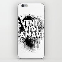 Veni Vidi Amavi iPhone & iPod Skin