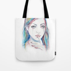 Never say a word Tote Bag