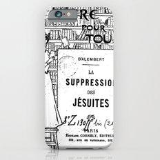 La Suppression des jésuites iPhone 6 Slim Case