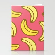 Bananas Stationery Cards