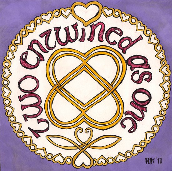 Celtic Love Knot Art Print