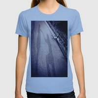 Shadow Proposal Womens Fitted Tee Athletic Blue SMALL