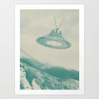 UFO II Art Print