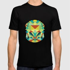 Colorful All SMALL Black Mens Fitted Tee