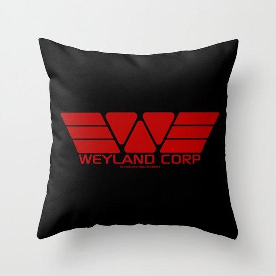 Weyland-Yutani Corp Throw Pillow
