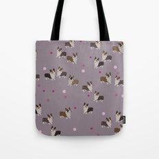 pink dot corgis Tote Bag