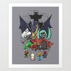Random Encounters Art Print
