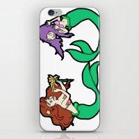 Mermaids iPhone & iPod Skin
