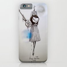 songs that were blue, songs that were grey Slim Case iPhone 6s