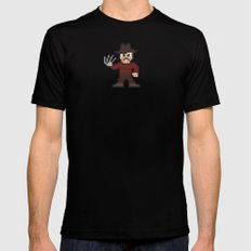 Nightmare on Pixel St. Mens Fitted Tee SMALL Black