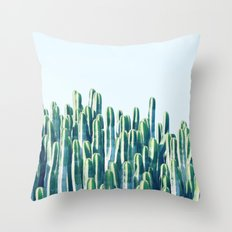 Cactus V2 #society6 #dec… Throw Pillow