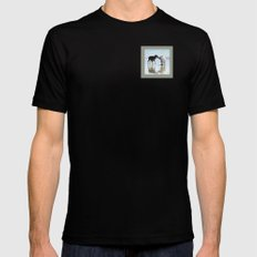 Sweet Meet SMALL Black Mens Fitted Tee