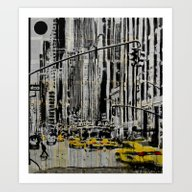 Somewhere In New York Ci… Art Print