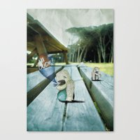 New Friend Canvas Print