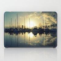 marina morning iPad Case