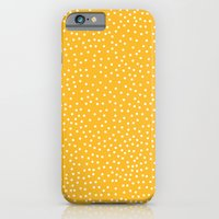 iPhone Cases featuring YELLOW DOTS by Priscila Peress