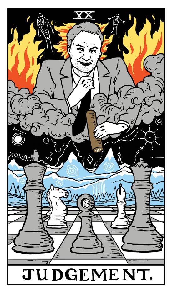 XX-Judgement Canvas Print