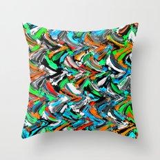 Stucco Sea 1 Throw Pillow