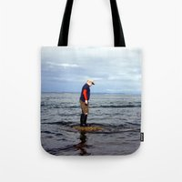 A boy and The Sea 2 Tote Bag