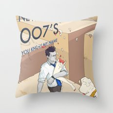 YOU KNOW MY NAME Throw Pillow