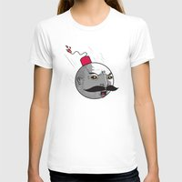 Ottobomb Womens Fitted Tee White SMALL
