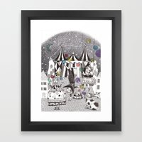 Night Carnival Framed Art Print