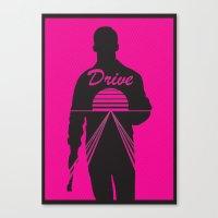 I Drive  Canvas Print