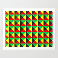 Vermeyden Pattern Art Print