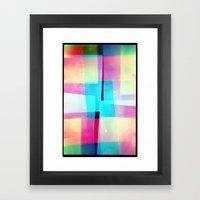 Constructs #2 (35mm Mult… Framed Art Print