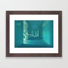Haunted Water Framed Art Print