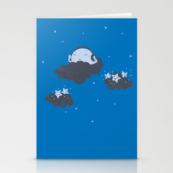 The Silent Night Stationery Card