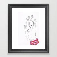 Bracelet Framed Art Print