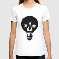 skulls T-shirts featuring Skulls by KatrinDesign