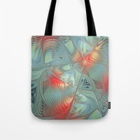 String Theory Fractal Ar… Tote Bag